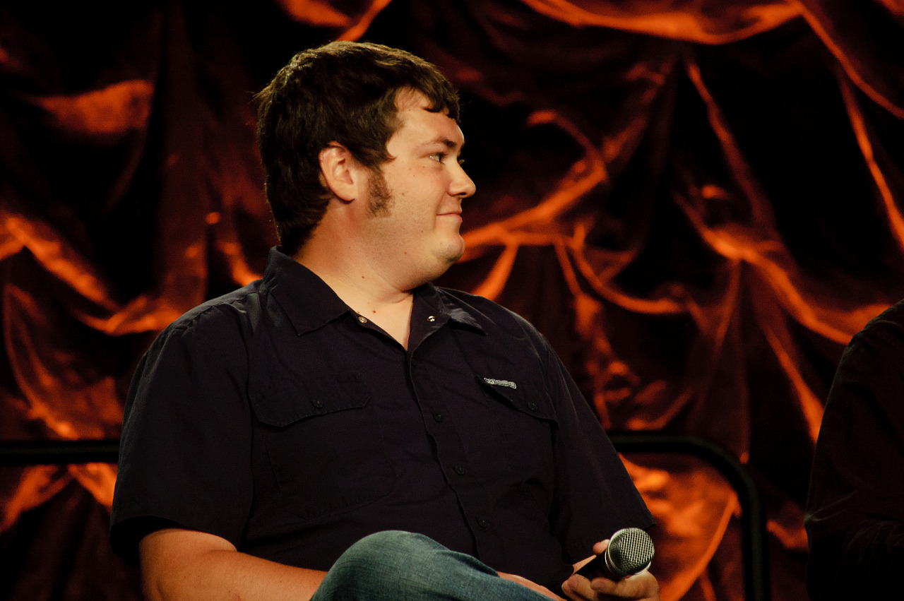 Matt Scott of Valve at the modding panel of Quakecon 2012
