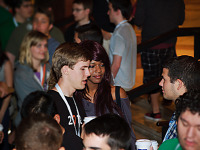 quakecon-dallas-2012 > Boy and girl couple talking at Quakecon 2012