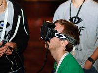 quakecon-dallas-2012 > Oculus Rift current prototype with headband at Quakecon 2012