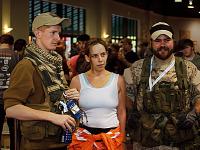 quakecon-dallas-2012 > Portal and military cosplayers at Quakecon 2012
