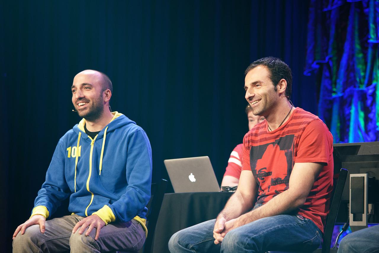 Arkane Seth Shain and Raphael Colantonio panel at Quakecon 2013