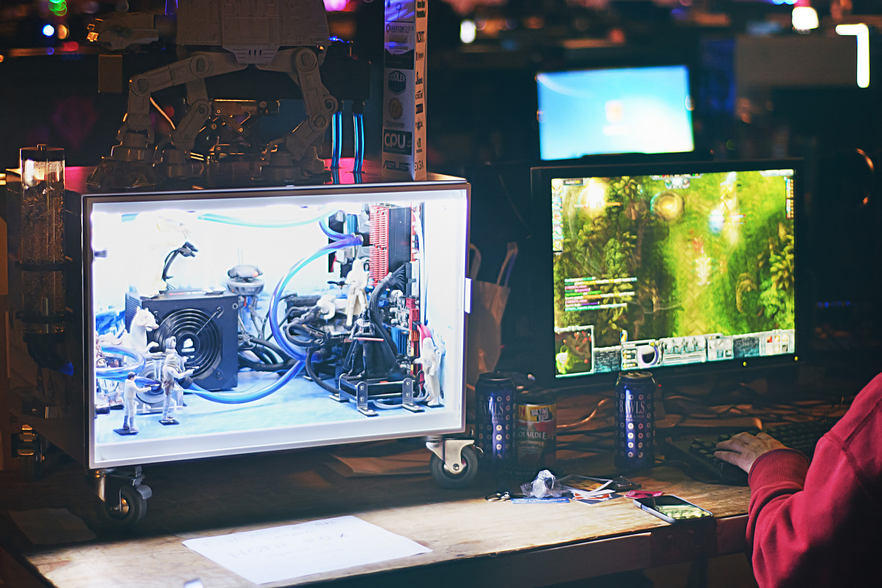 Star wars PC mod at the BYOC Quakecon 2013