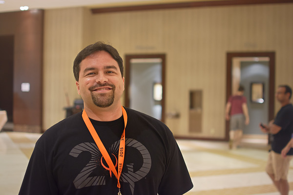 Hugo Martin Art director at id Software at Quakecon