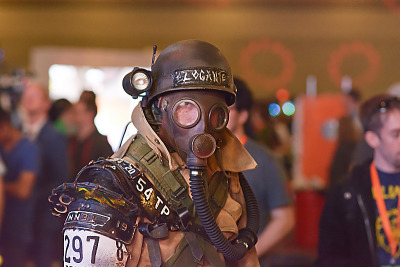 quakecon-dallas-2015 > Logante cosplay by Star Citizen employee at Quakecon 2015
