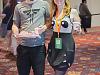 quakecon-dallas-2015 > Gamers with Panda Dress at Quakecon 2015