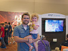 quakecon-dallas-2015 > Young gamers father and daughter on the showfloor of Quakecon
