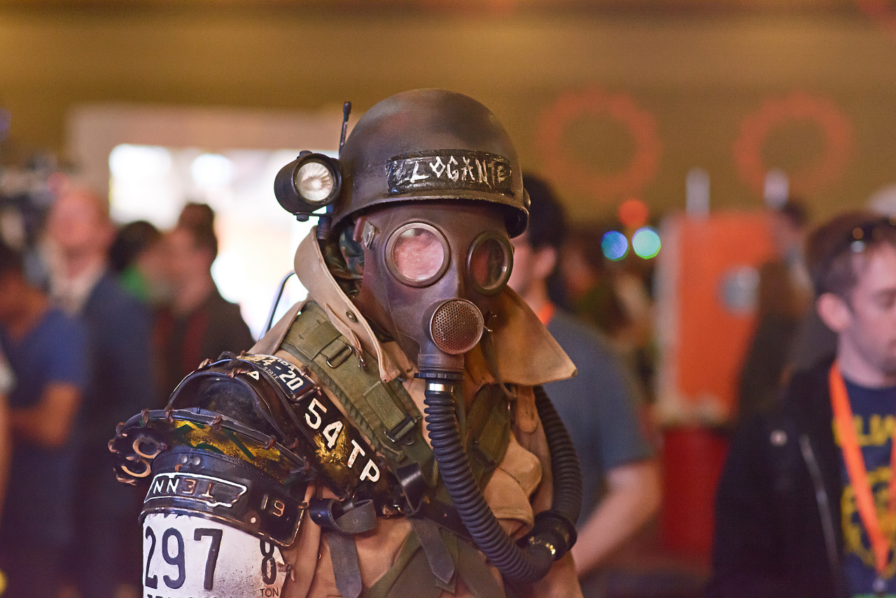 Logante cosplay by Star Citizen employee at Quakecon 2015
