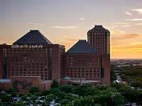 quakecon-dallas-2015 > Hilton Anatole view at sunset