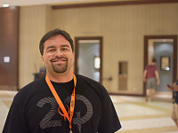 quakecon-dallas-2015 > Hugo Martin Art director at id Software at Quakecon