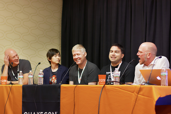 Art of Doom Panel Shinichiro Hara Jerry Keehan Hugo Martin Adam Sessler