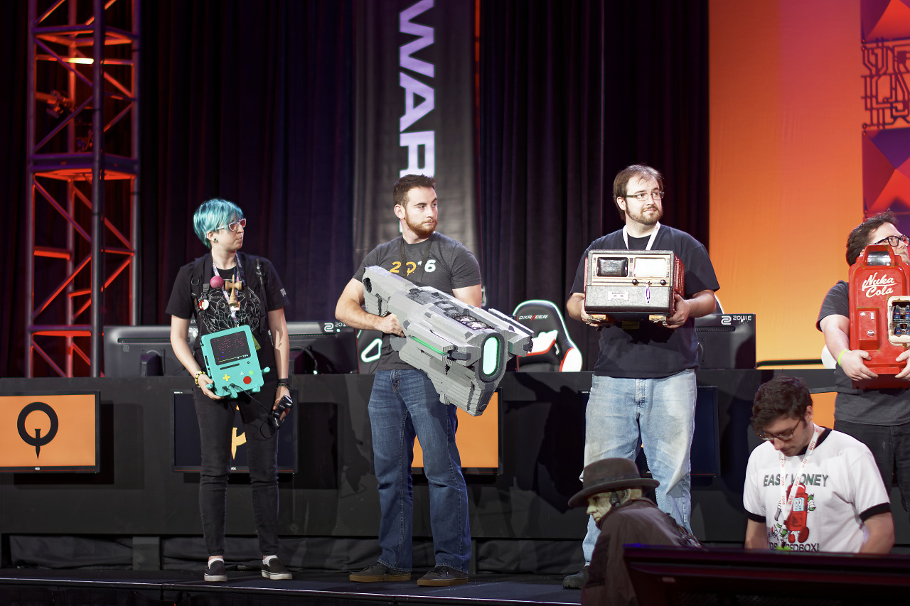 Case mods competition at the Quakecon Finals
