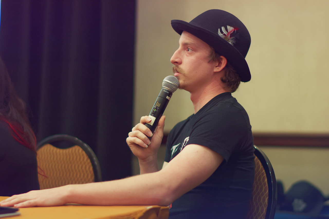Cosplay with me was presenting their work at the Cosplay Photography panel at Quakecon 2017