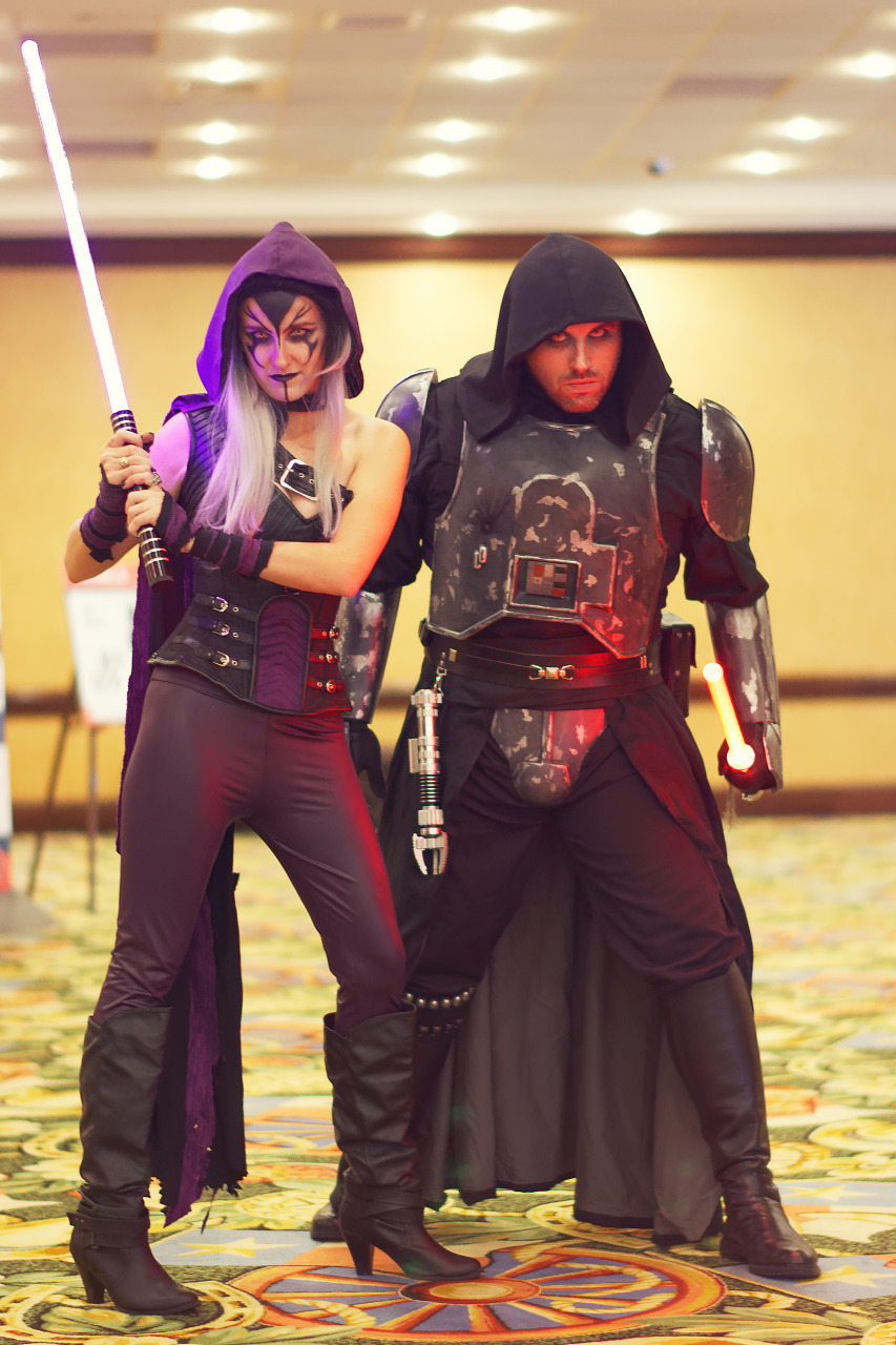 Nightsister and Inquisitor concepts from Starwars at Quakecon 2017