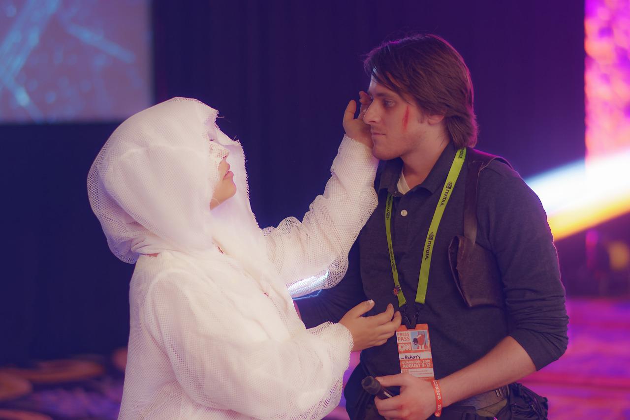 Myra Hanson Sebastian Castellanos Cosplay at Quakecon 2018