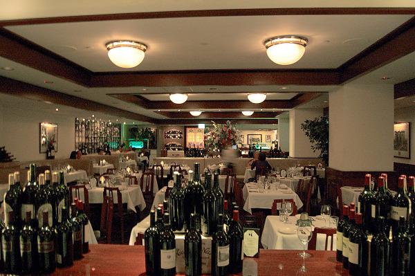 Morton's Steak House inside
