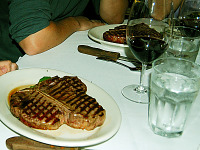 san-francisco > Giant Porterhouse Steak at Morton's, San Francisco
