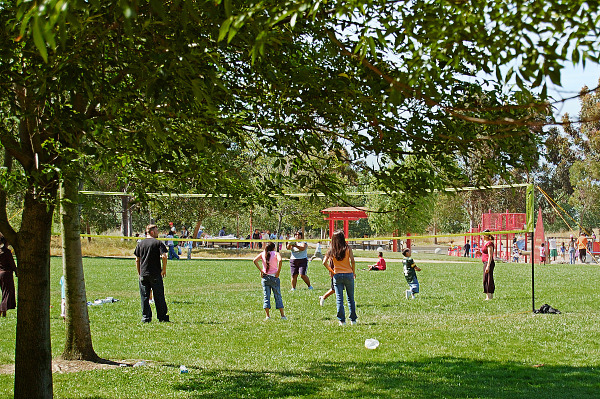 silicon-valley-usa  > Volley ball players in Bayland Park