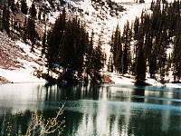 university-of-utah > utah hike mountain lake clear water